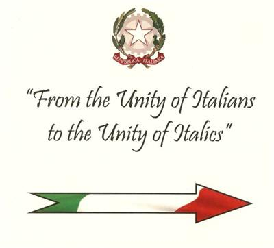 From the Unity of Italians to the Unity of Italics