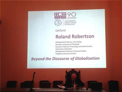 Lecture di Roland Robertson - Beyond the discourse of globalization
